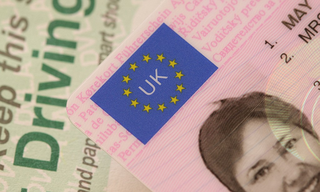 UK Driving Licence Photo ID And Paper Counterpart.