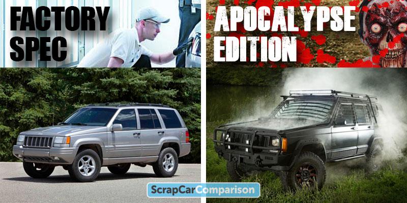 1998 Jeep Grand Cherokee Zombie Survival Vehicle