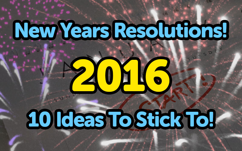 New Year Resolutions For Your Car 2016