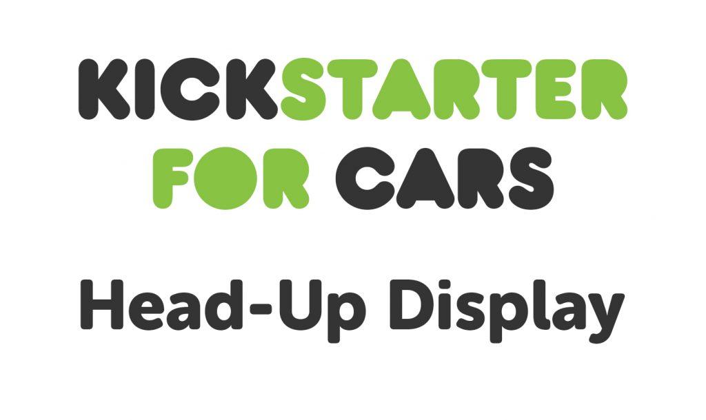 kickstarter for cars - Car HUD