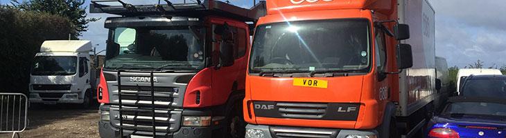 scrap van and truck