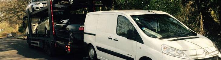 scrap van recovery