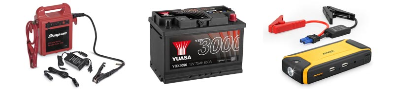 Compact jump starters are perfect for personal use