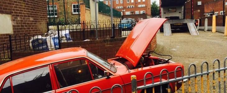 Scrap car collection in Bristol