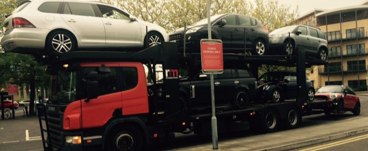 Scrap car collection in London