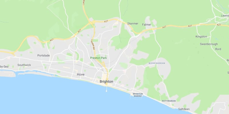 Brighton Scrap Car Map