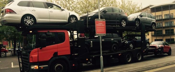 Scrap car collection in Leeds