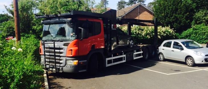 Leicester scrap car collection