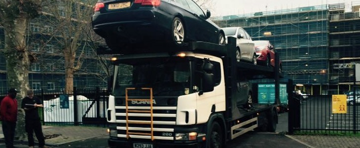 Scrap car collection in Manchester