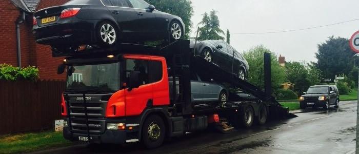 Scrap car collection in Basingstoke