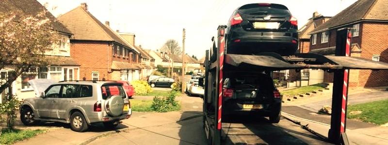Scrap car collection in Cambridge