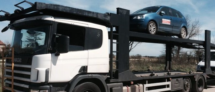 Scrap car collection in Colchester