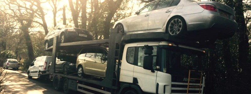 Scrap car collection in Norwich