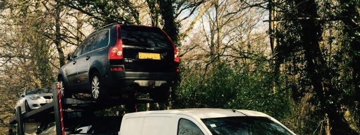 Scrap car collection in Croydon