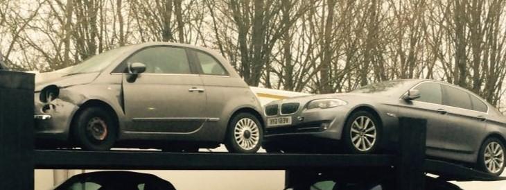 Scrap car collection in Northampton