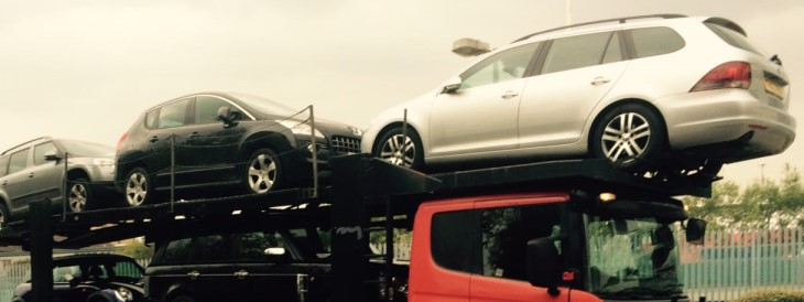 Scrap car collection in Stoke-on-Trent