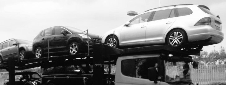 Scrap car collection in Blackburn