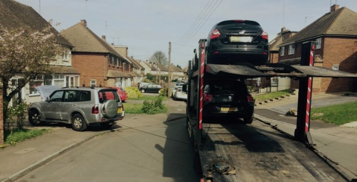 Scrap car collection in Harrogate
