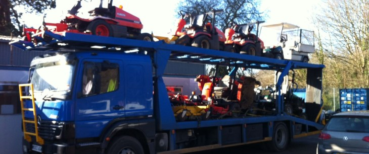 Scrap car collection in Northwich
