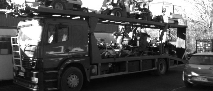 Scrap car collection in Oxford