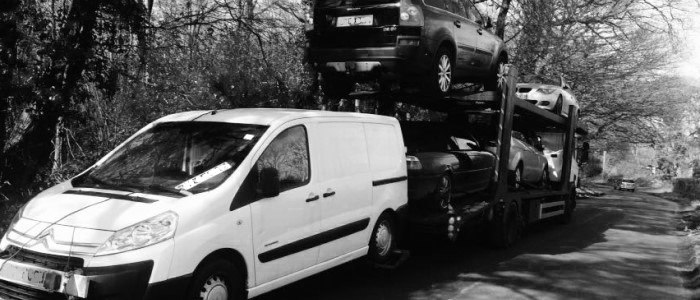 Scrap car collection in Wakefield