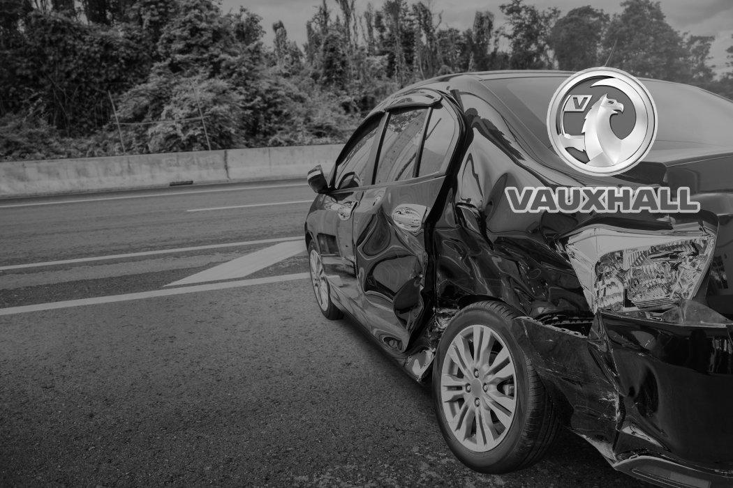 Scrap Vauxhall car