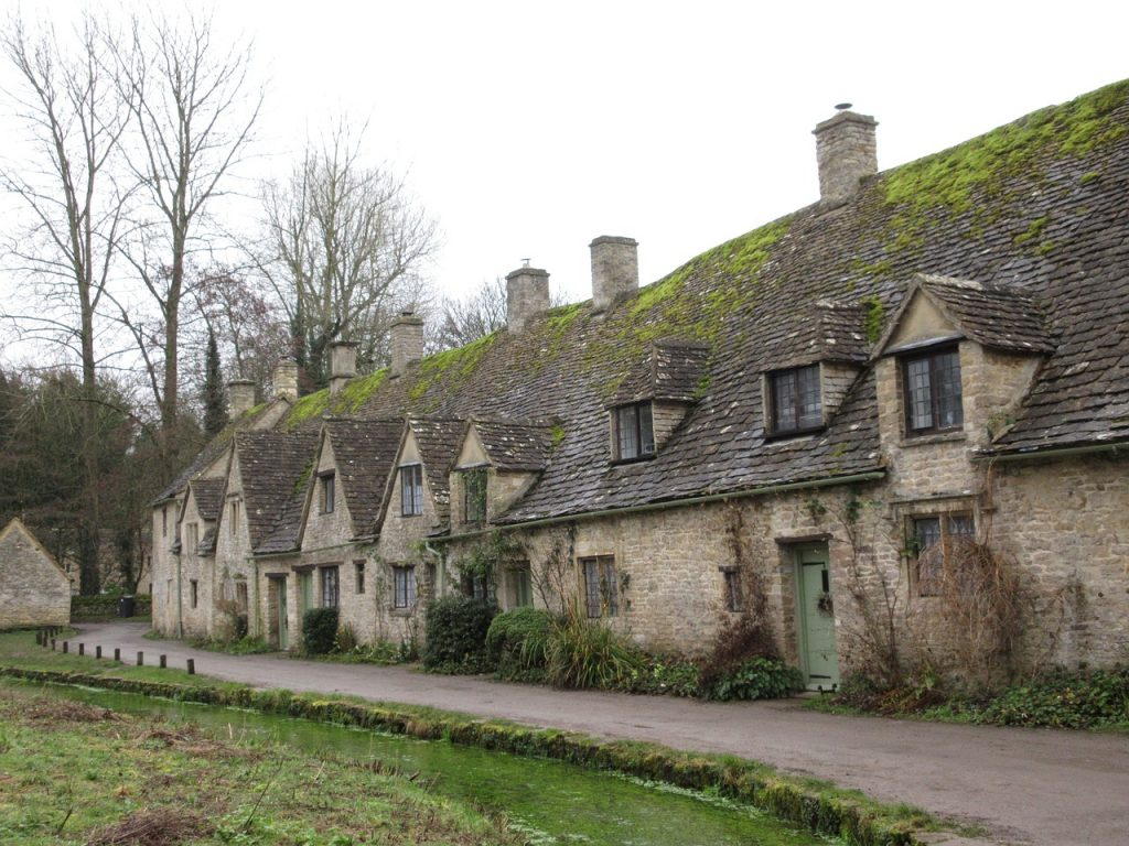 Lovely village in the Costwolds