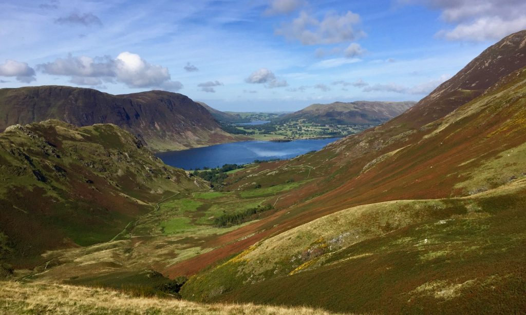 View over Crummock Water