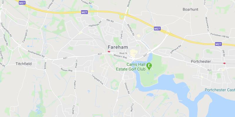 Fareham scrap car location