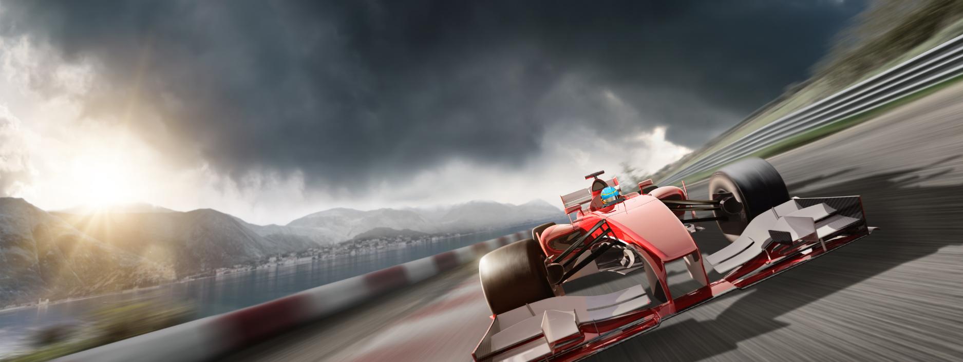 F1 race track